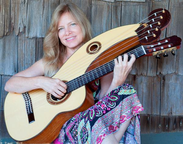 Muriel Anderson and her harp-guitar